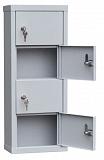 Шкаф для хранения мобильных телефонов на 4 ячейки  (ИШК-4в)