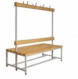 Скамья гардеробная СК-2В-1500